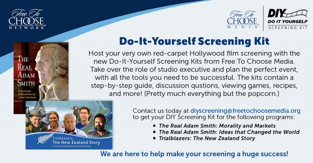 New do it yourself screening kits from free to choose media solutioingenieria Choice Image